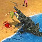 Crocodile Beach Attack 2016