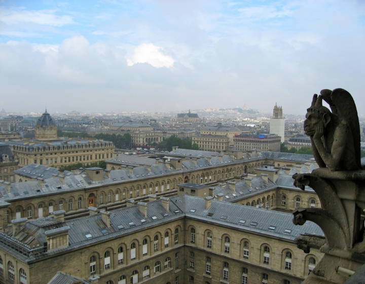 Paris et le Gargouille di Tatyg78