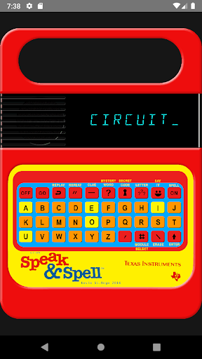 Speak and Spell - screenshot