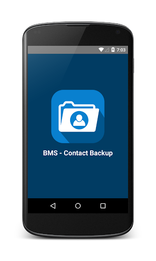 BMS-Contact Backup