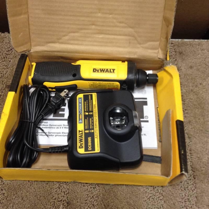 DEWALT DCF682N1 8V MAX Gyroscopic Inline Screwdriver   KX REAL ...