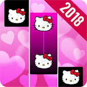 Piano Pink Tiles 4 - Music, Games & Magic Tiles Icon