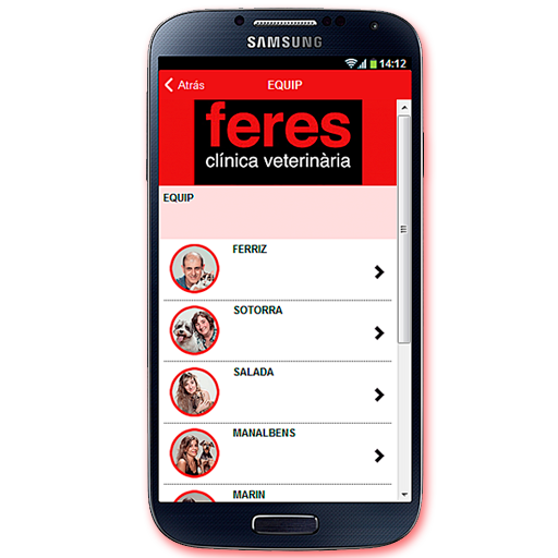 Feres- screenshot