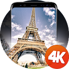 Paris wallpapers 4K icon