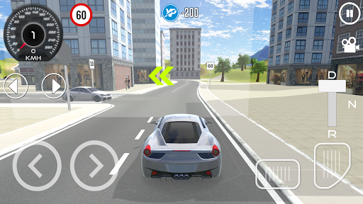 Driving School 3D  captures d'u00e9cran 1
