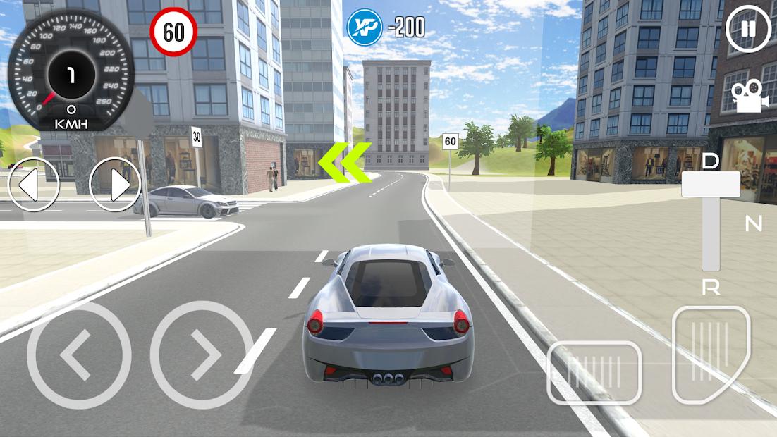 Driving School Simulator 2019 Android App Screenshot