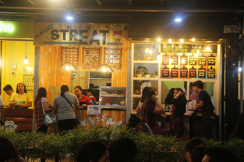 LafangzStreats and Twinny Bunny Milk Tea Cafe Stalls