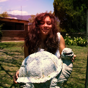 turtle love by Cody May - People Portraits of Women