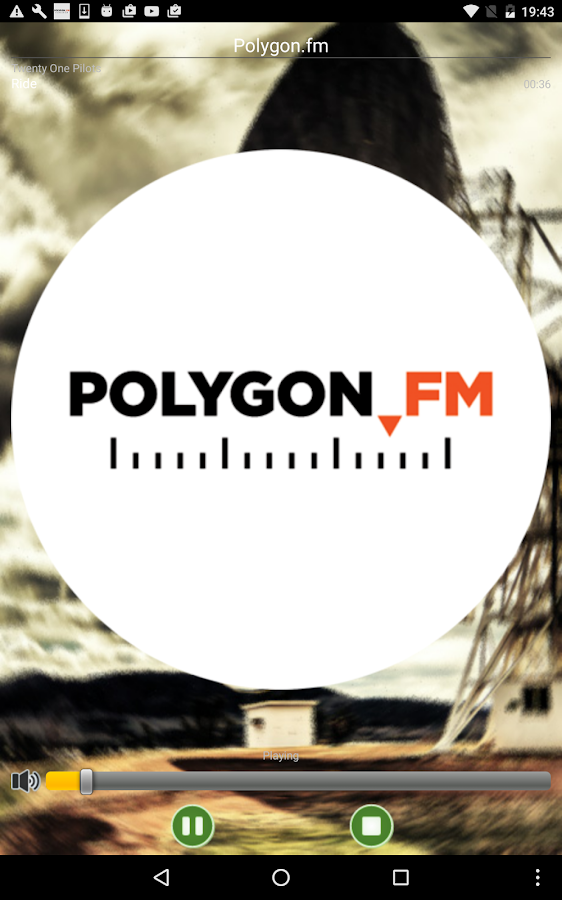 Polygon.fm- screenshot