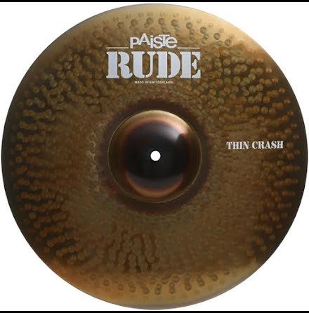 "18"" Paiste RUDE - Thin Crash"