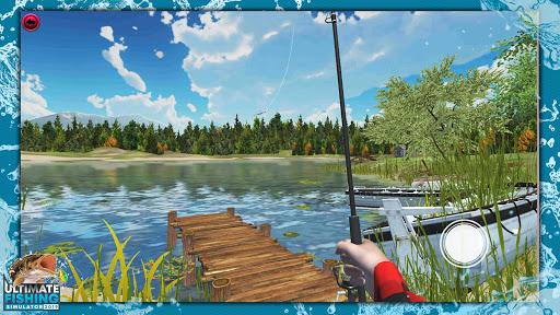 Télécharger Ultimate Fishing Simulator PRO APK MOD (Astuce) screenshots 1