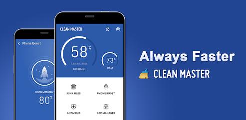 دانلود برنامه Clean Master - Antivirus, Applock & Cleaner