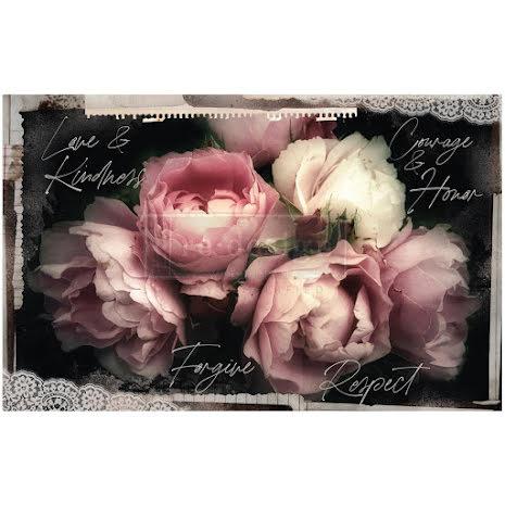 Prima Re-Design Decoupage Tissue Paper 19X30 2/Pkg - Zara