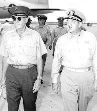 Photo: General McC Tate and Capt Duffy