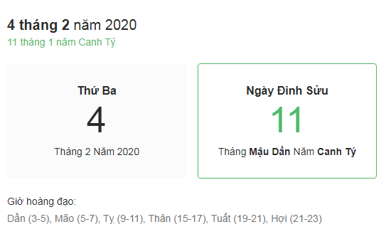 Dự đoán kết quả xsmb ngày 04/02/2020 theo phong thủy