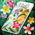 Tropical Flower Live Wallpapers 🌺Exotic Wallpaper icon