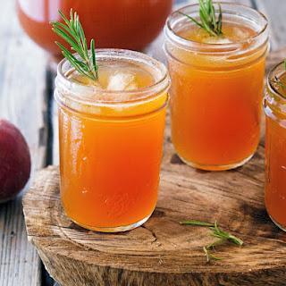 Rosemary-Peach Iced Tea