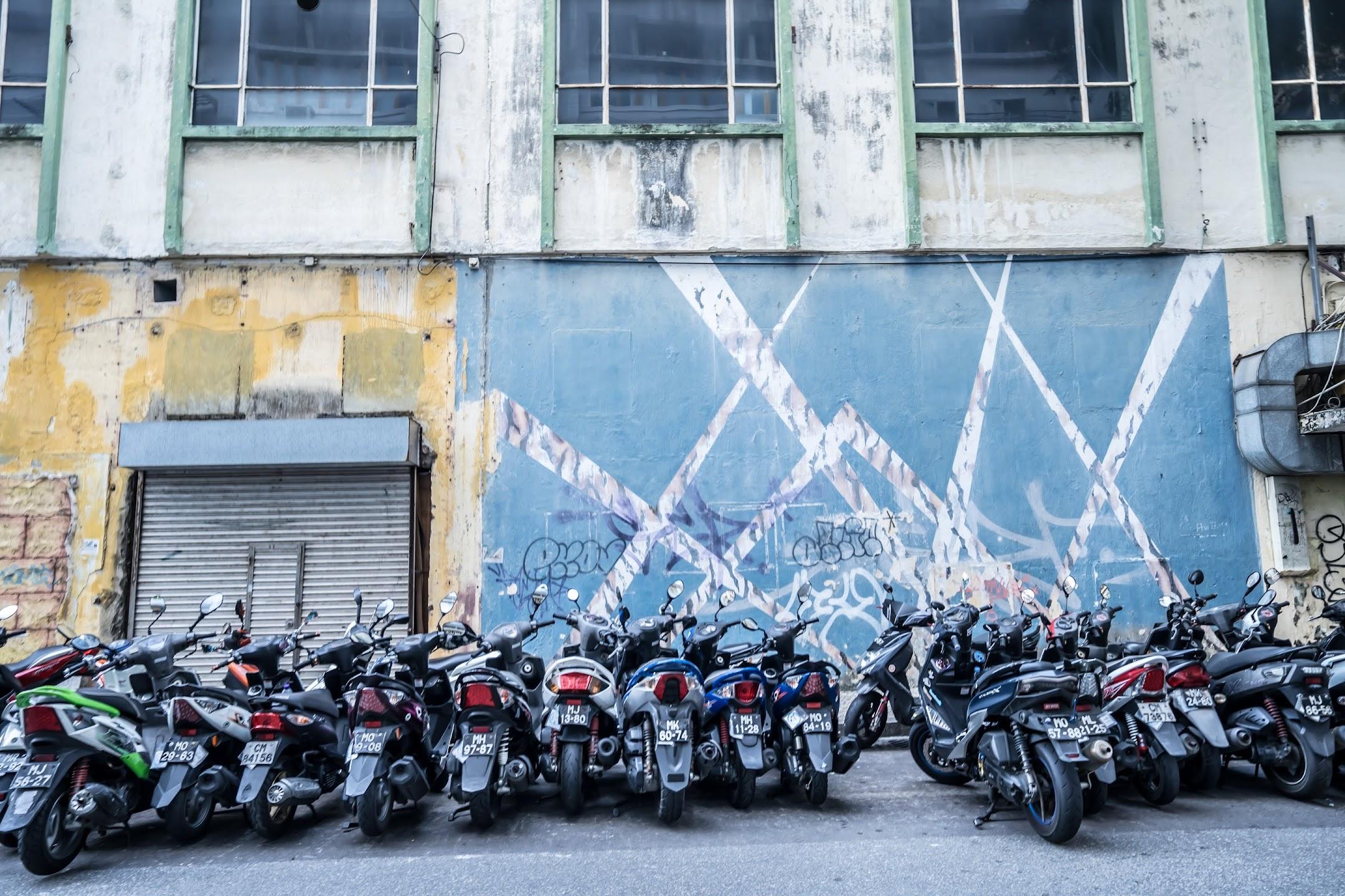 マカオ バイク