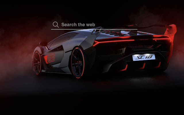 Lamborghini SC18 Alston HD Wallpaper Theme