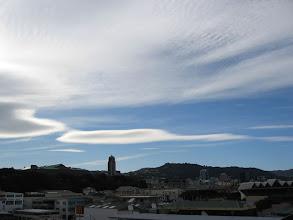 Photo: Wave cloud over Wellington - 3:53pm, 19-Sep-03