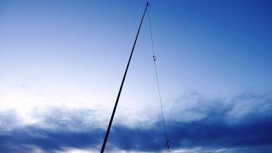 Photo: na vrhu je prostora le za vertikalne antene , tokrat sem aktiviral na 20m in 10m
