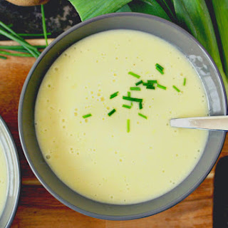 Easy and Creamy Potato Leek Soup.