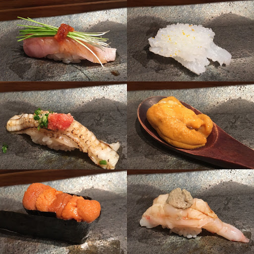 心目中第一名的日式無菜單料理 每一道菜都特別精緻