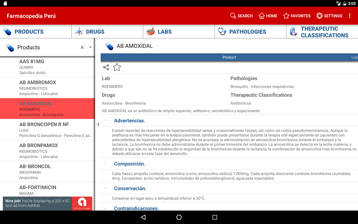 Farmacopedia Peru- screenshot