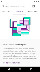 Tor Browser (Alpha) 68.9.0 APK Mod for Android 3