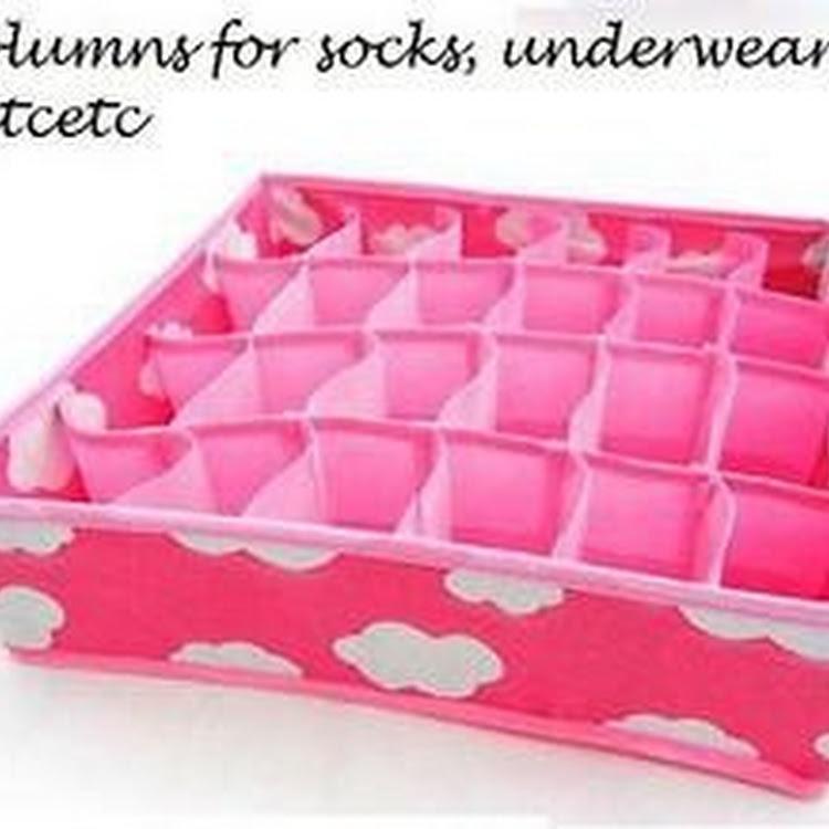 Panty storage case by Supermodels Secrets