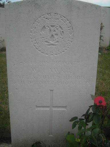 William Lawrie grave