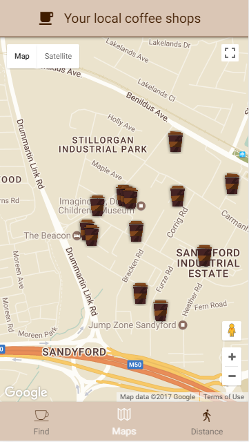 CoffeeTrail - Local Coffee Finder- screenshot