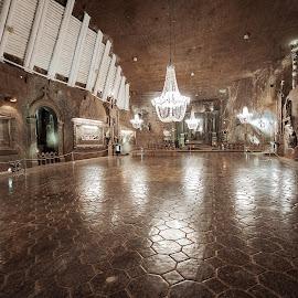 Salt Mine Wieliczka by Paweł Mielko - Buildings & Architecture Other Interior ( mine, salt, salt mine, poland, hall, wieliczka, interior, architecture )