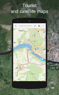 Mapy.cz - Cycling & Hiking Maps- screenshot thumbnail