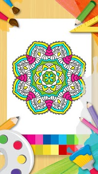 Download Mandala Boyama Kitabı Bedava Yetişkin Boyama Oyunu Apk