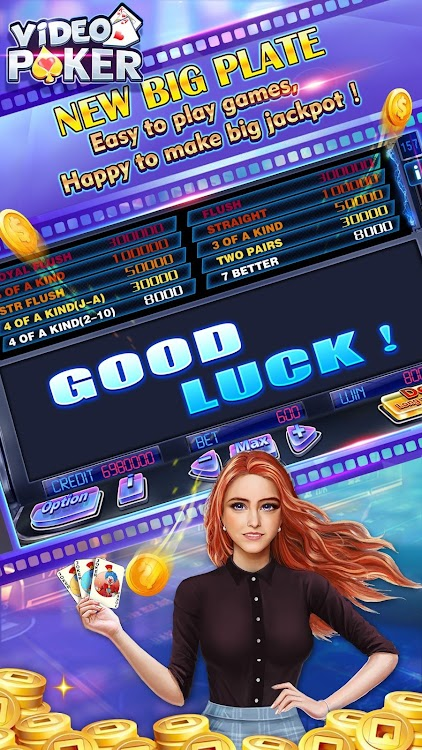 Video Poker 5pk Android Games Appagg