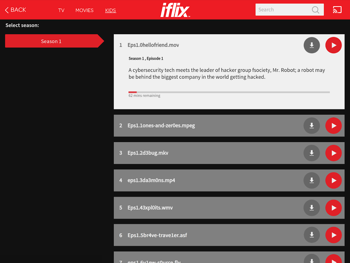 iflix- screenshot