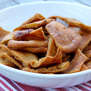 Garlic and Sea Salt Pita Chips