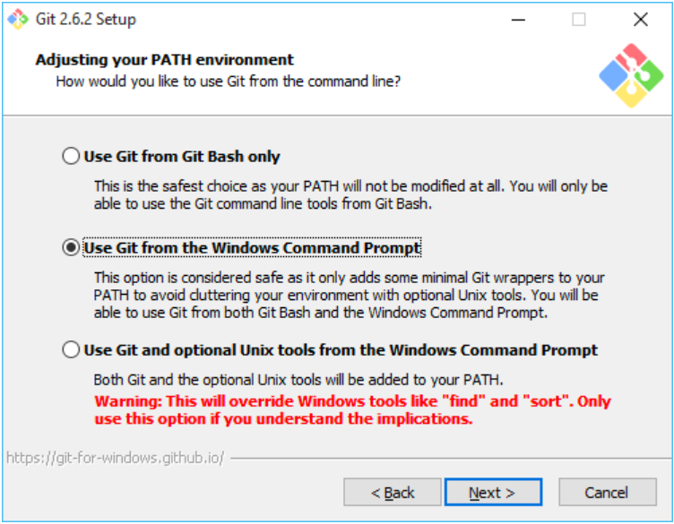 Default Windows Command Prompt