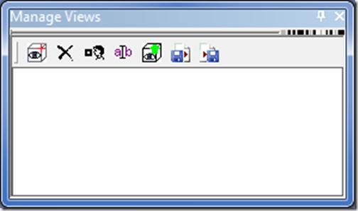 ANSYS - значки для различных команд по сохранению и открытию видов