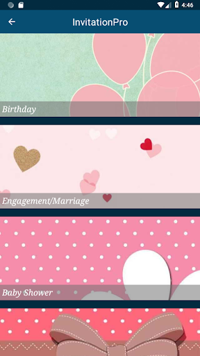 Invitation Card Maker Pro 1.2 screenshots 2
