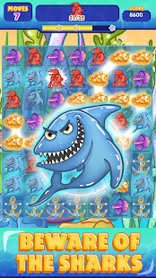Sea Treasures - Match 3 Connect - náhled