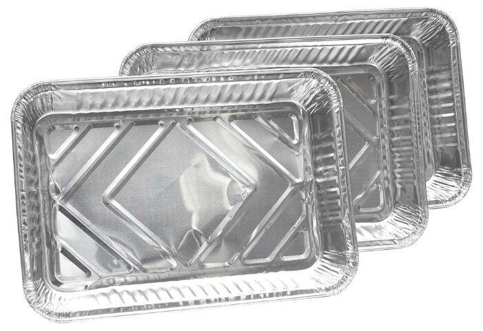 Союзгриль Лоток для запекания одноразовый, алюминий (3 шт.)