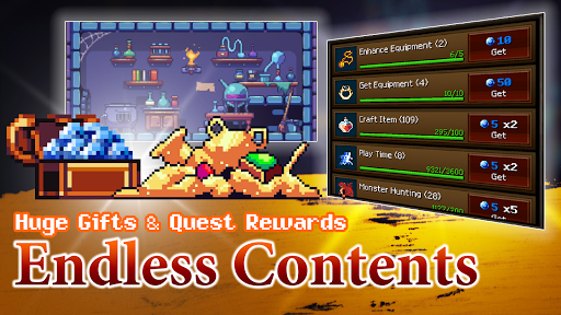 Dungeon & Alchemist - Idle Pixel RPG : Dragon Raid 1.4.16 screenshots 5