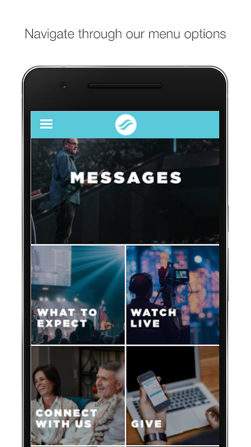 NewSpring Kansas- screenshot
