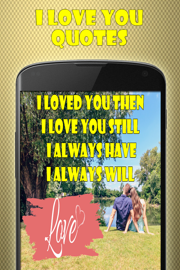I Love You Quotes Free- screenshot