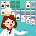 Solitaire Foodie -  Card Game of Cooking Puzzle icon