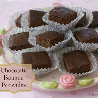 Grain-Free Chocolate Banana Brownie