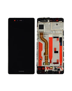Huawei P9 LCD Display with Frame Black