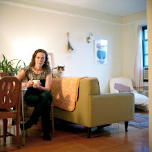 Photo: title: Lydia Fleck, Queens, New York date: 2011 relationship: friends, met at Hampshire College years known: 20-25